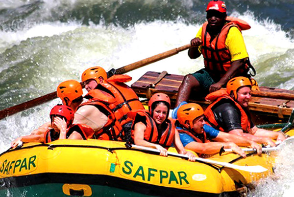 Safpar White Water Rafting